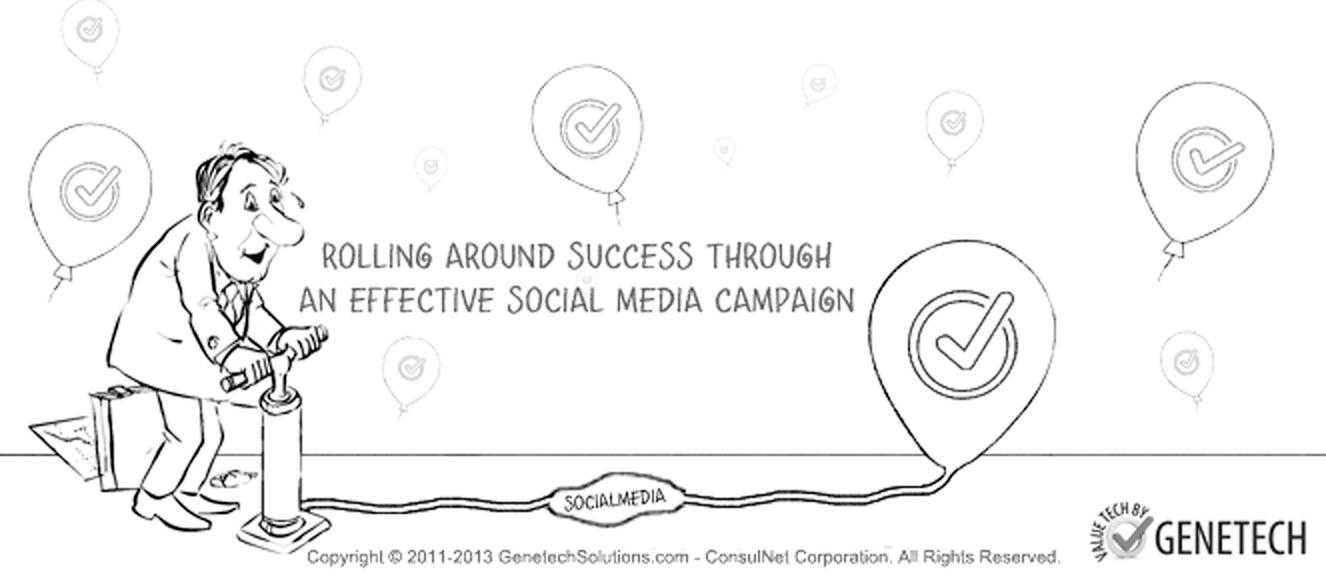 proper utilization of social media