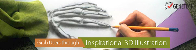 inspirational 3D illustration