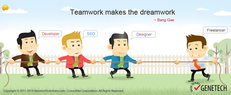 company vs crowdsourcing