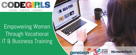 CodeGirls – A bootcamp for Women Empowerment in the Tech Domain