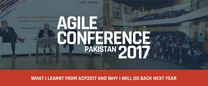 What I learnt from ACP-2017 and Why I Will Go Back Next Year