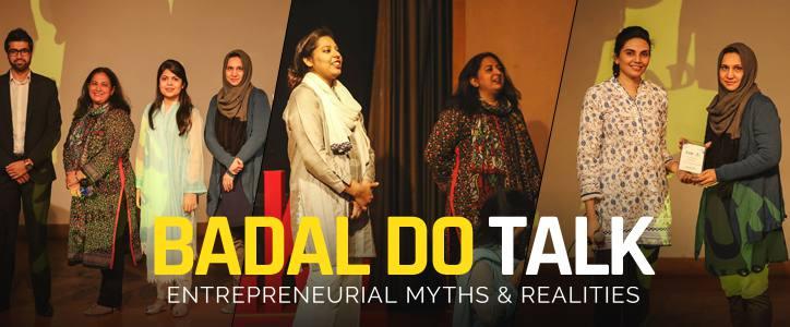 Badal Do Talk: Entrepreneurial Myths & Realities