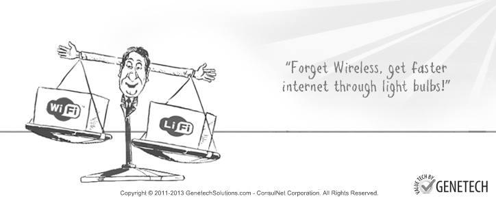 LiFi – For Speedier Data Transmission through Light Bulbs