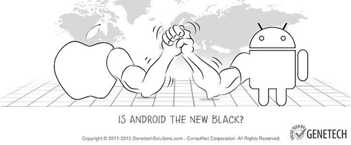 iPhone vs Android Apps – Is Android the New Black?
