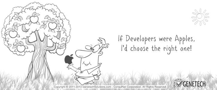 It's your Right to Choose the Right Apple Developer for your Company