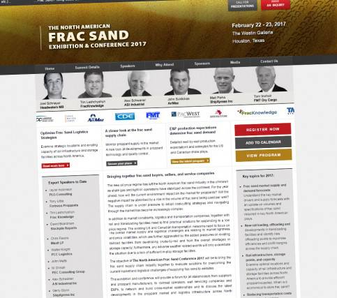The North American Frac Sand Exhibition & Conference 2017