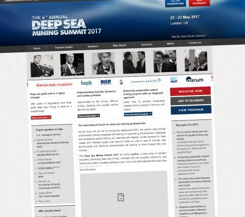 The Deep Sea Mining Summit 2017