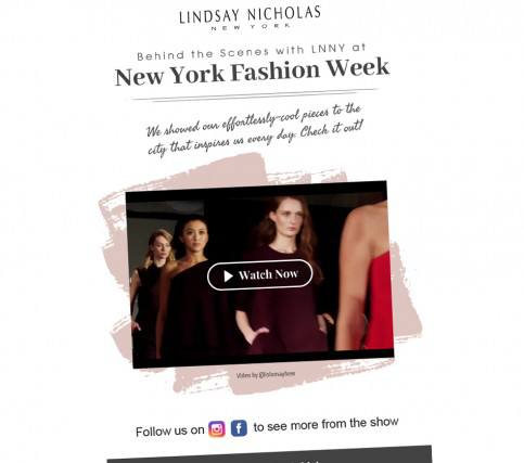 Lindsay Nicholas - NWYF Behid the Scenes