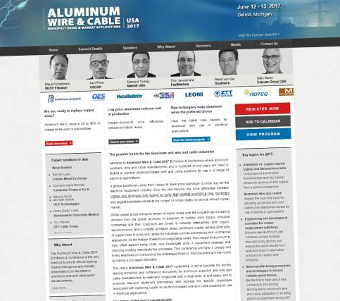 The Aluminum Wire & Cable Exhibition & Conference 2017