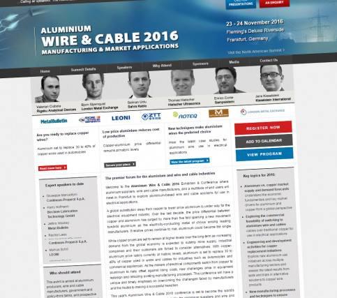 Aluminium Wire & Cable 2016