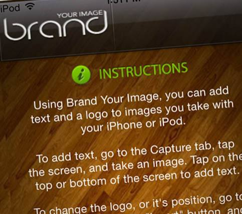 Brand Your Image