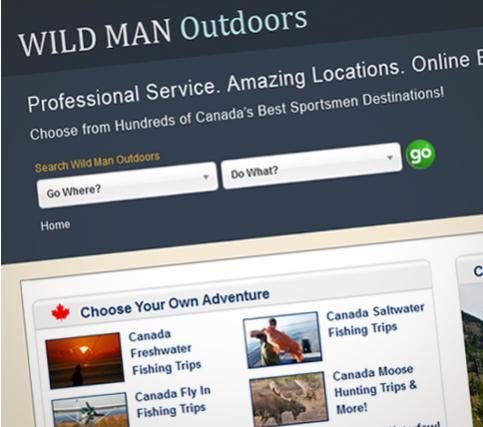 Wild Man Out Doors