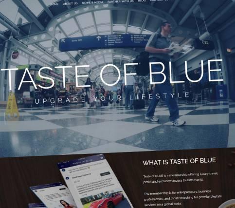 Taste of Blue