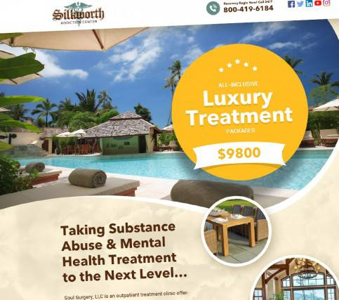 Luxury Treatment - Silkworth Addiction Center