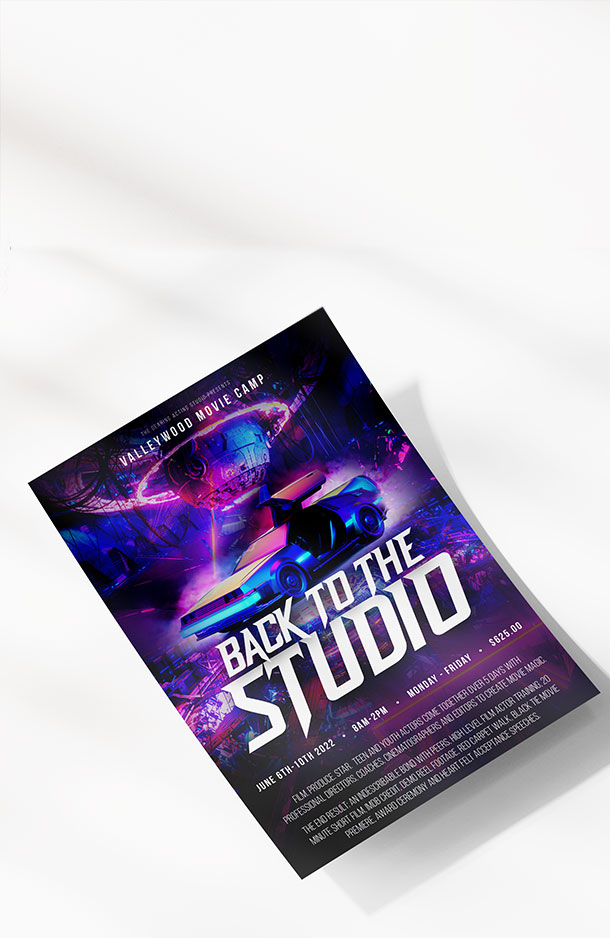 Valleywood Summer Movie Camp - Back to the Studio