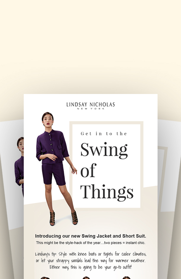 Lindsay Nicholas - Swing Jacket