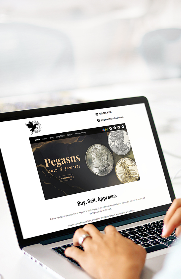 Pegasus Coin and Jewelry