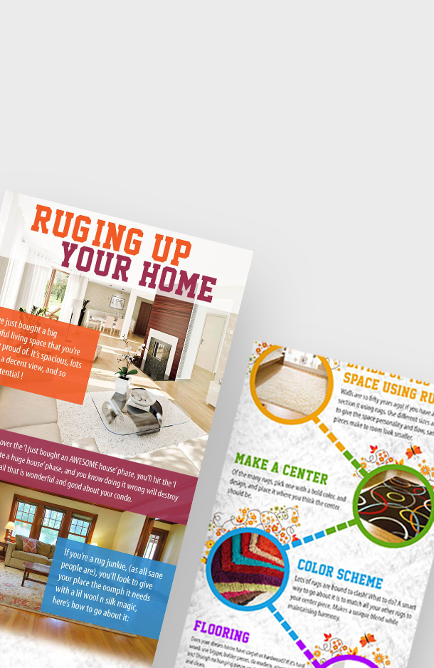 Ruging up your home