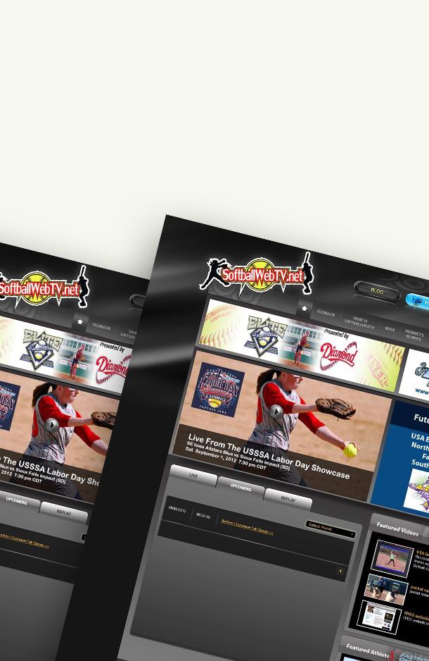 SoftBall Web TV