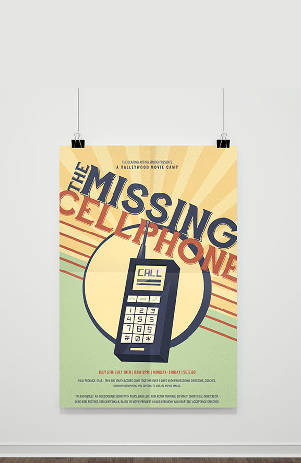 Valleywood Movie Camp - A Missing Cellphone