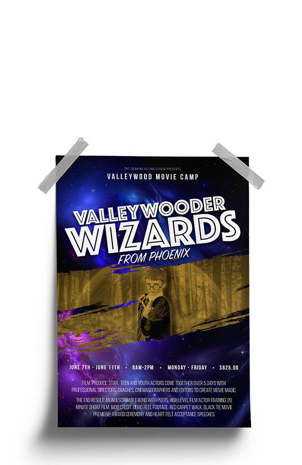 Valleywood Summer Movie Camp - Valleywooder Wizard from Phoneix