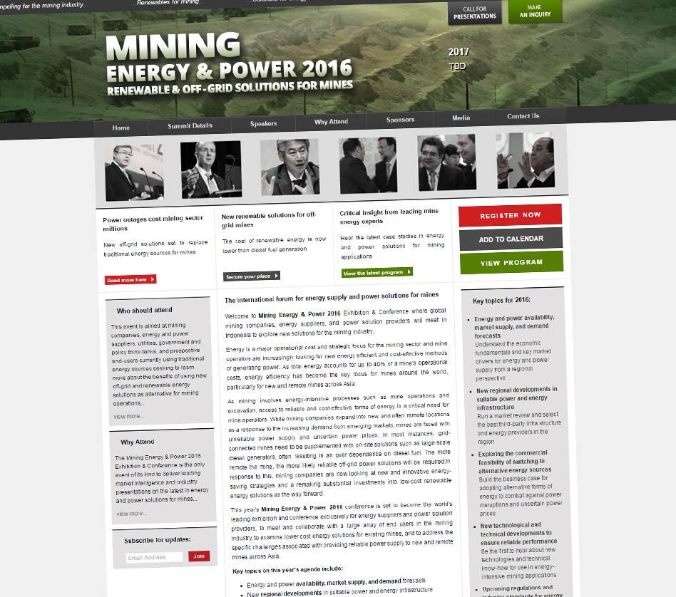 Mining Energy & Power 2016